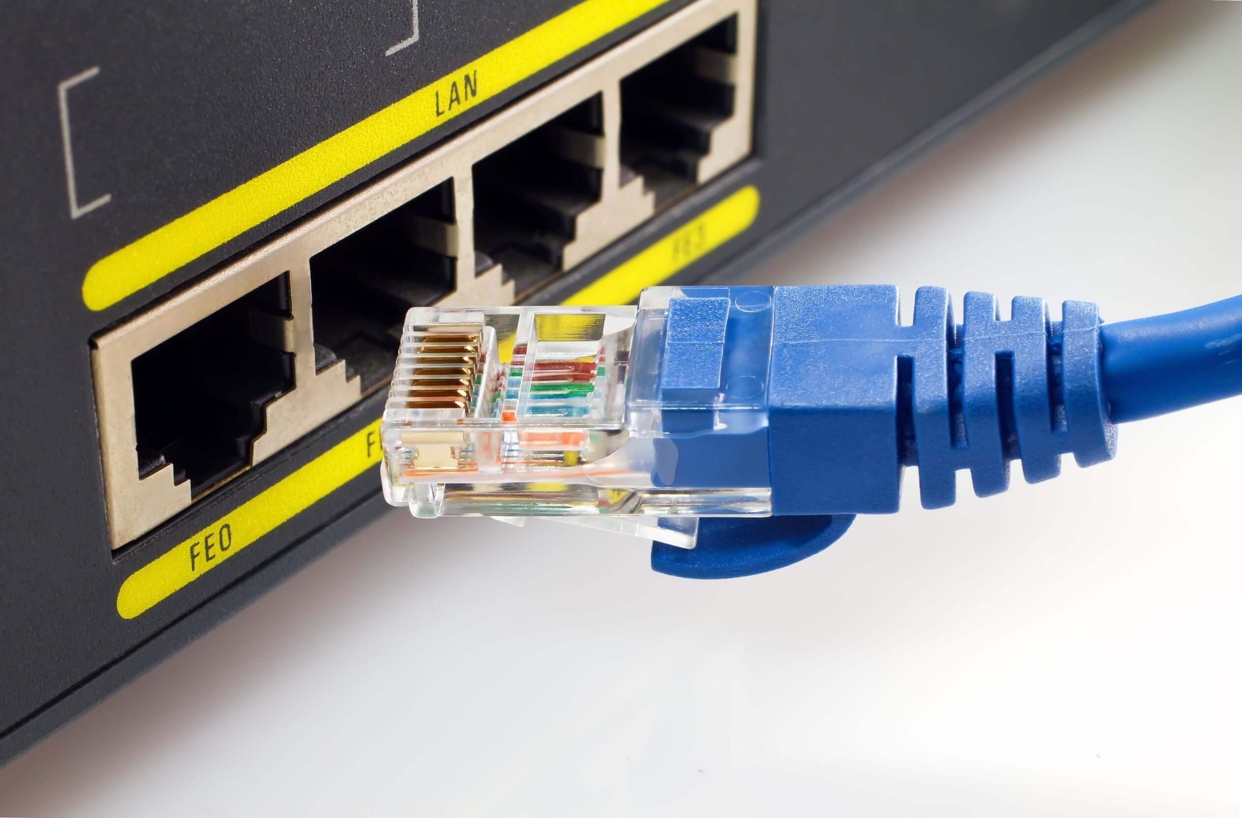 Is broadband the same as Ethernet