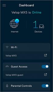restart my Linksys Velop Wi-Fi network