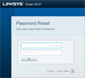 administration password