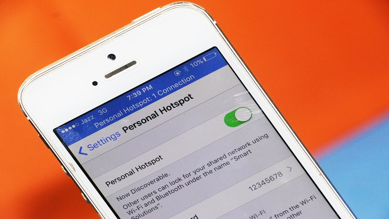 How to tether iPhone to Samsung