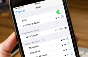 name of your Wi-Fi network
