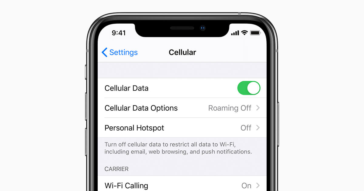 Wi-Fi vs. Data