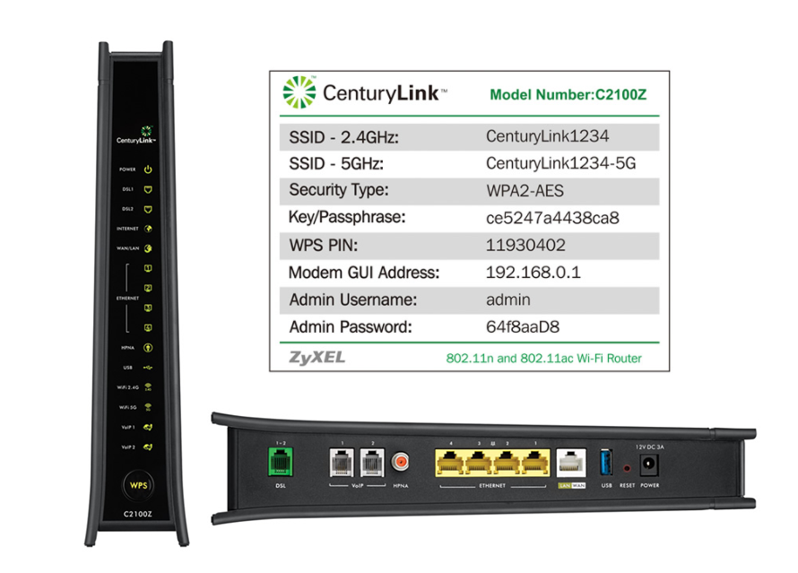 How to change or reset Centurylink wifi password