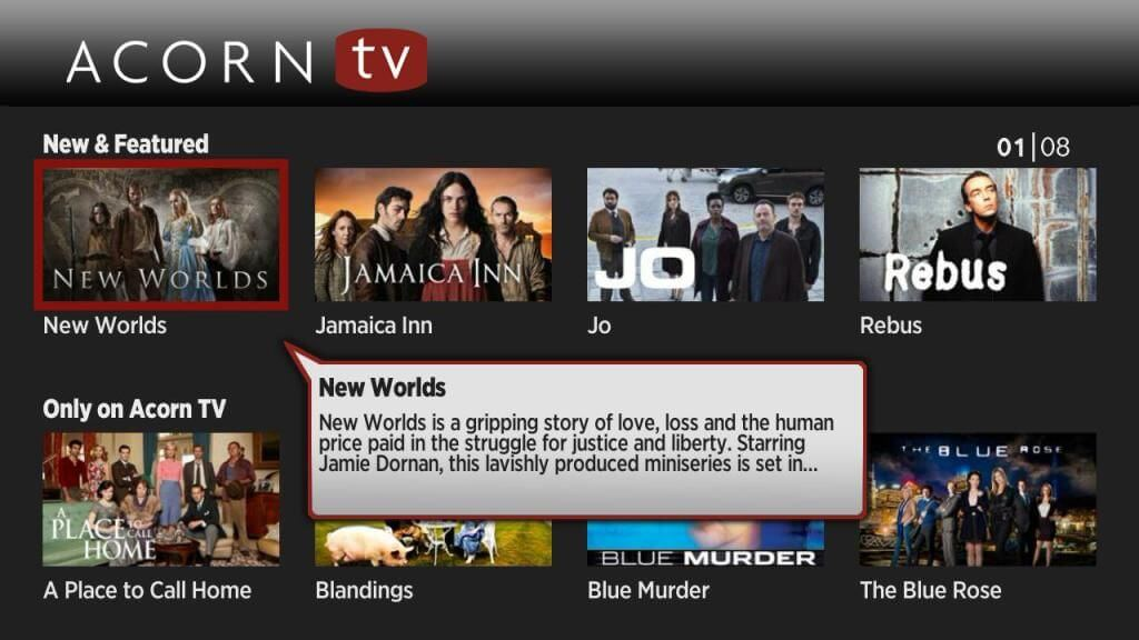 How to install Acorn TV on Roku [