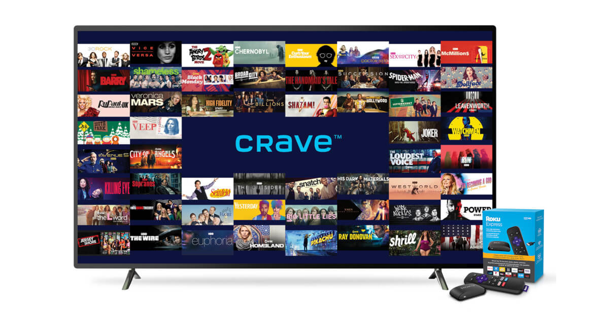 How to install CRAVE TV on Roku