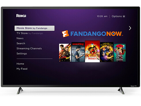 install Fandango NOW on Roku TV