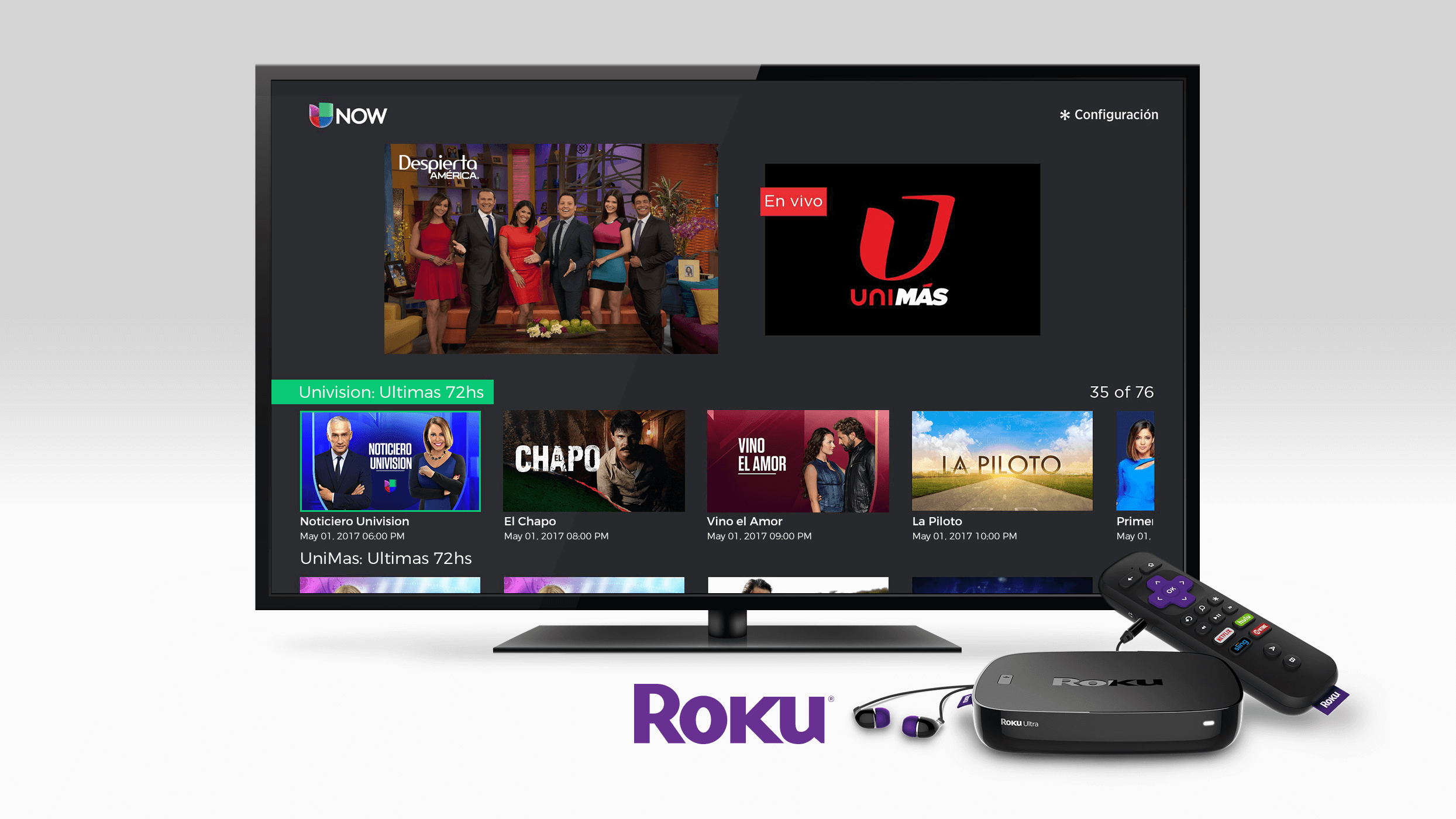 How to Add Univision on Roku Streaming Devices