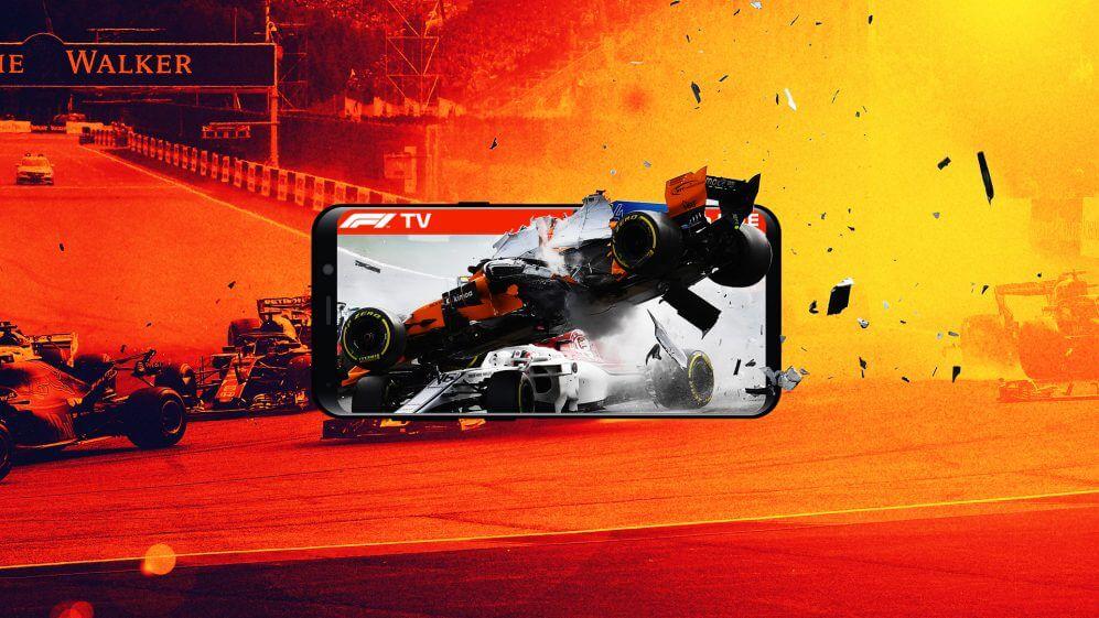 Watch F1 TV on Roku