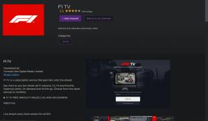 F1 TV on Roku