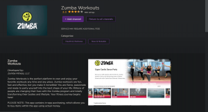 install and use Zumba