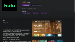 Watch Hulu on Roku